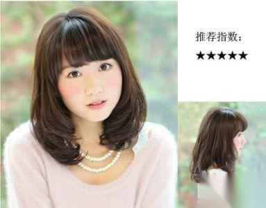 冬季女生髮型 16款中長微卷發最流行